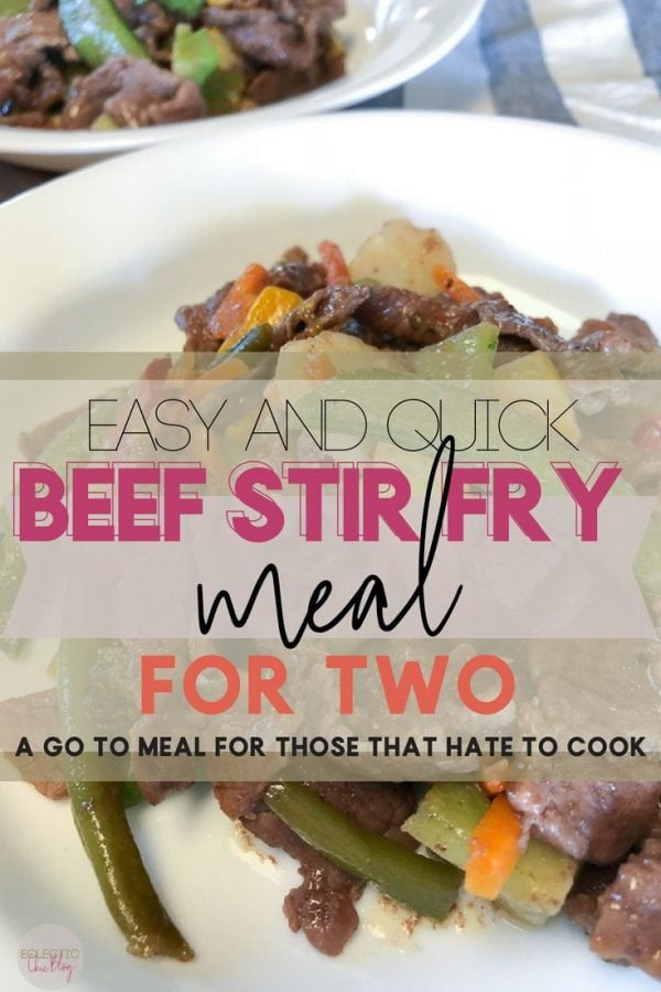 Family Dinner Easy and Quick Beef Stir Fry
