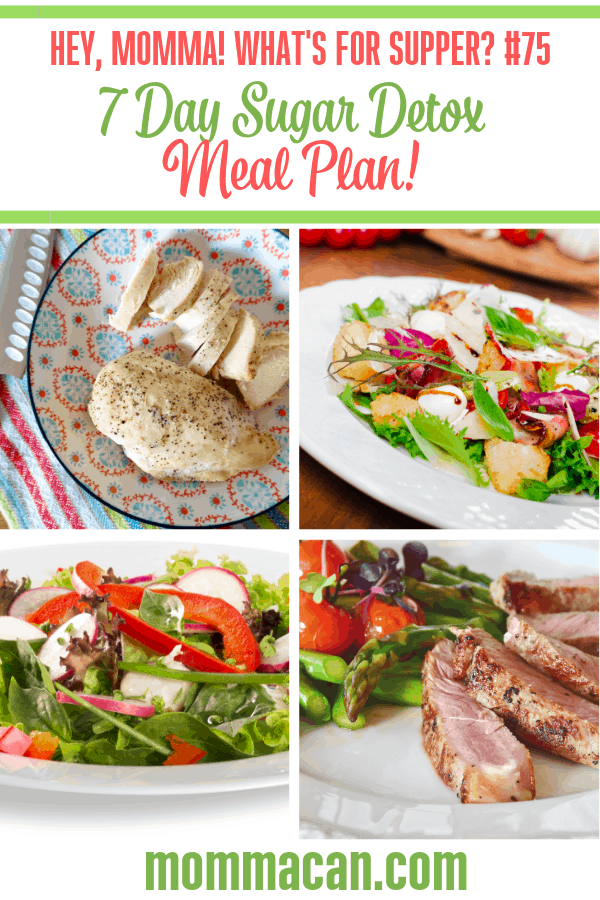 7 Day Sugar Detox Meal Plan