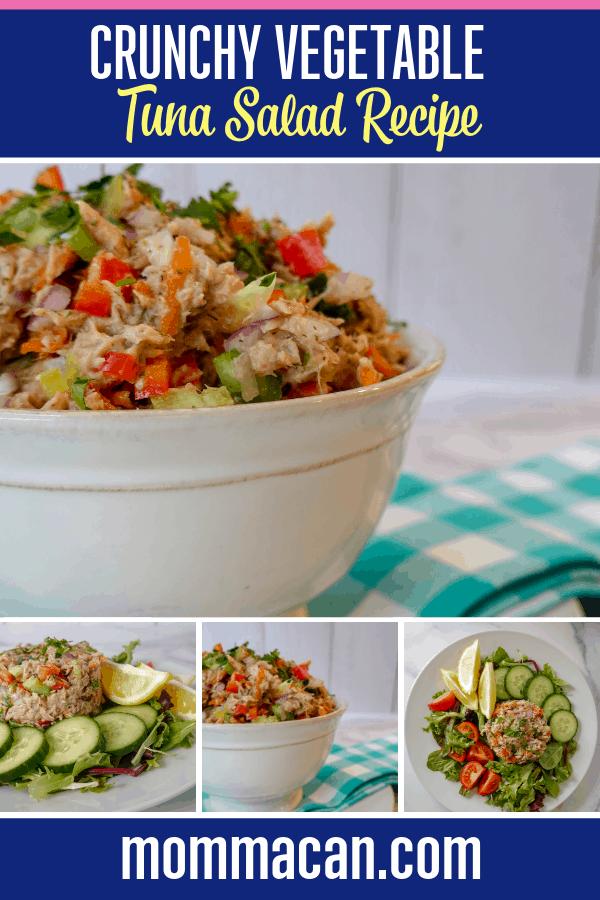 Crunchy Vegetable Tuna Salad Recipe