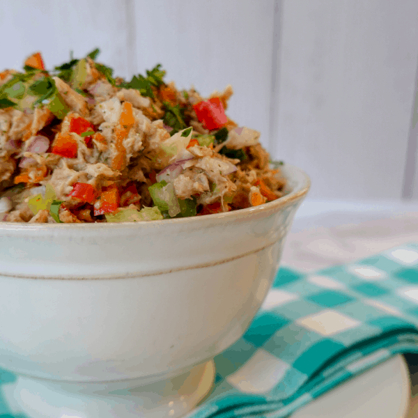 Crunchy Vegetable Tuna Salad Recipe