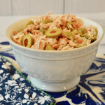 Three Ingredient Green Olive Tuna Salad Easy Recipe