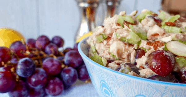 Delicious Apple Grape Almond Tuna Salad Recipe