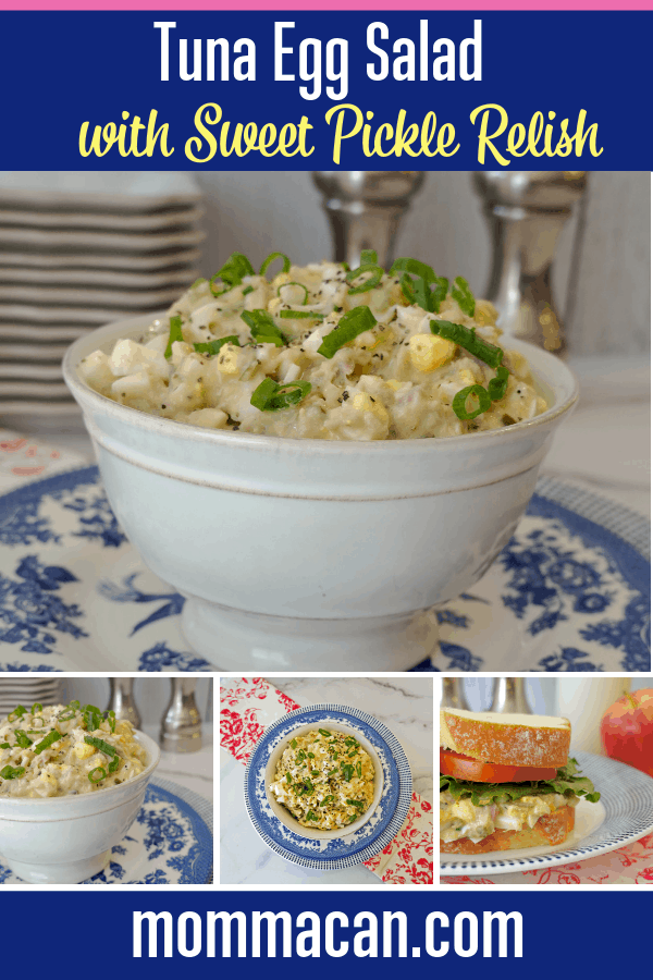 Tuna Egg Salad With Sweet Pickle Relish