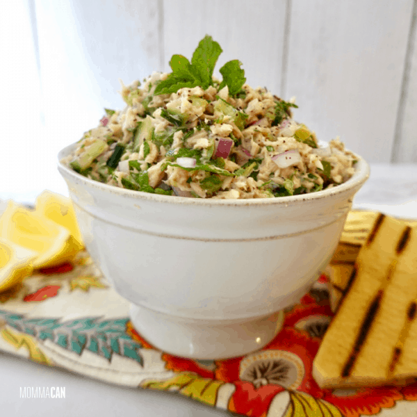 Lebanese Fattoush Tuna Salad Recipe