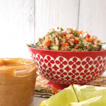 Thai Tuna Salad With Peanut Dressing - Easy Recipe