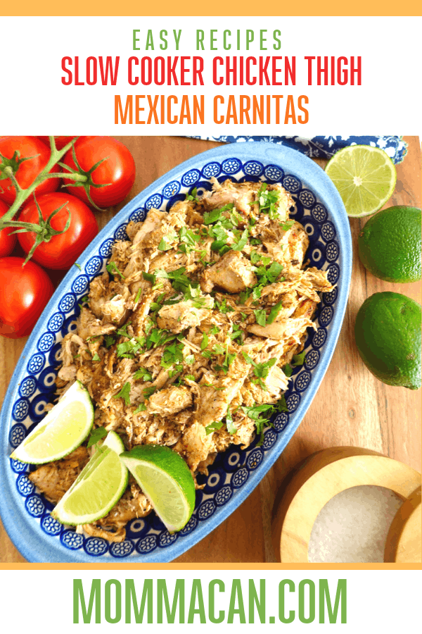 Slow Cooker Chick Thigh Carnitas Recipe