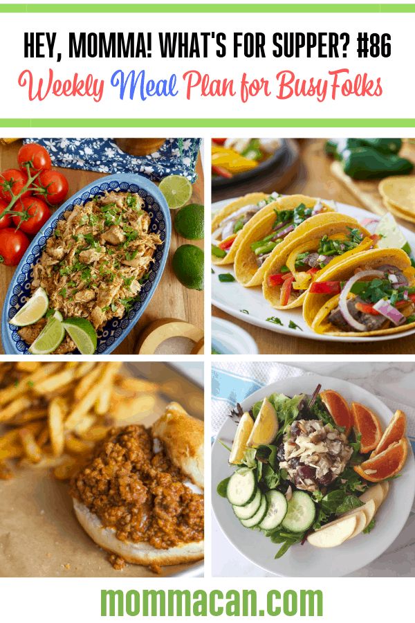 Tacos, Carnitas and Sloppy Joes