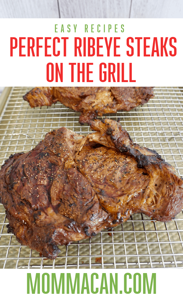 How To Grill Ribeye Steak On A Gas Grill PIcture