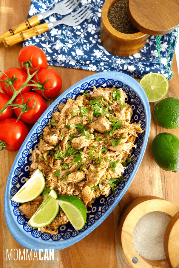 Slow Cooker Chicken Thigh Carnitas Recipe