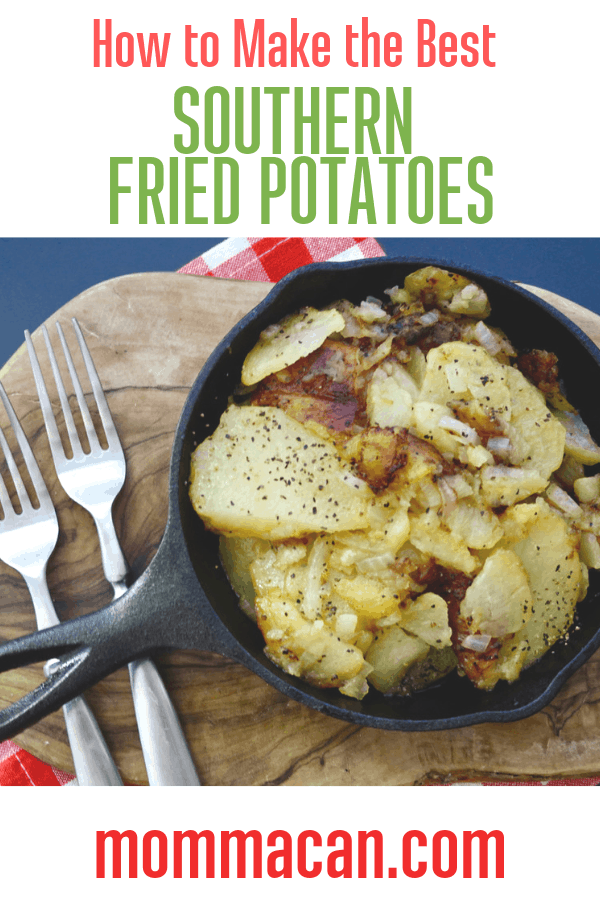 How To Make Southern Fried Potatoes and Onions