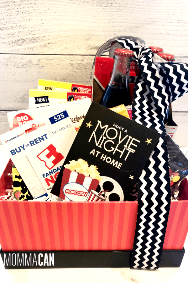 Movie Night In Gift Basket