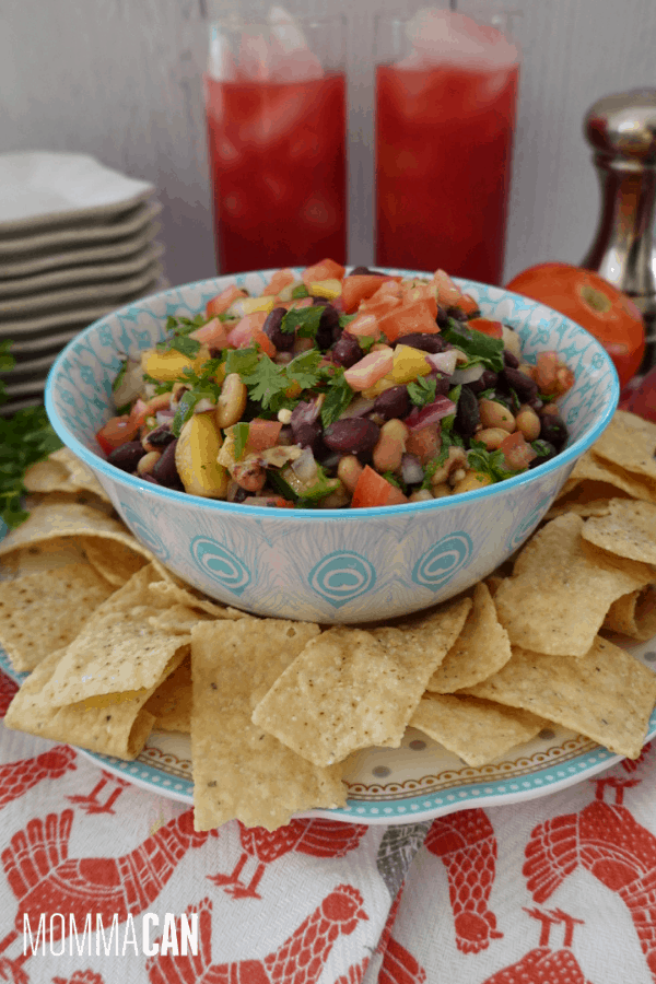 Summer Peach Cowboy Caviar Recipe