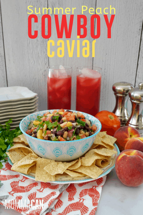 Summer Peach Cowboy Caviar Recipe