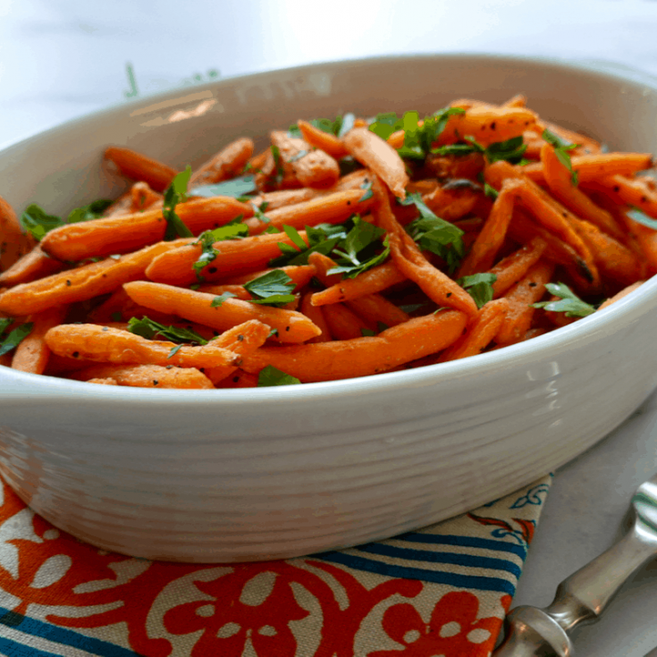 Maple Roasted Baby Carrots Recipe