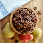 Maple Glazed Pumpkin Spice Pecans-3