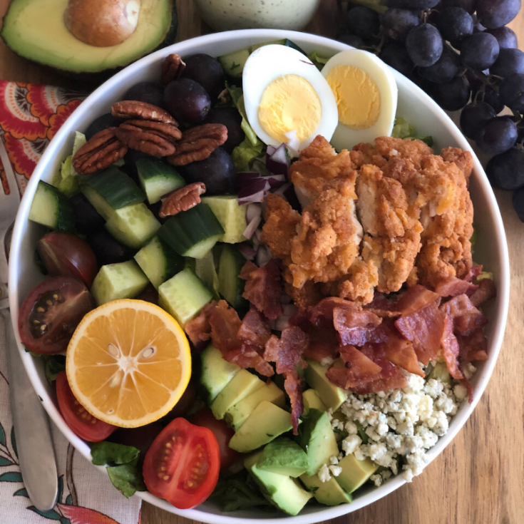 Southern Belle Cobb Salad Recipe