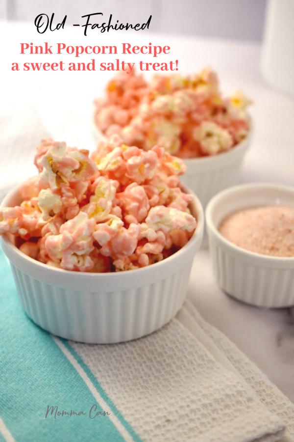Salty Sweet PInk Popcron