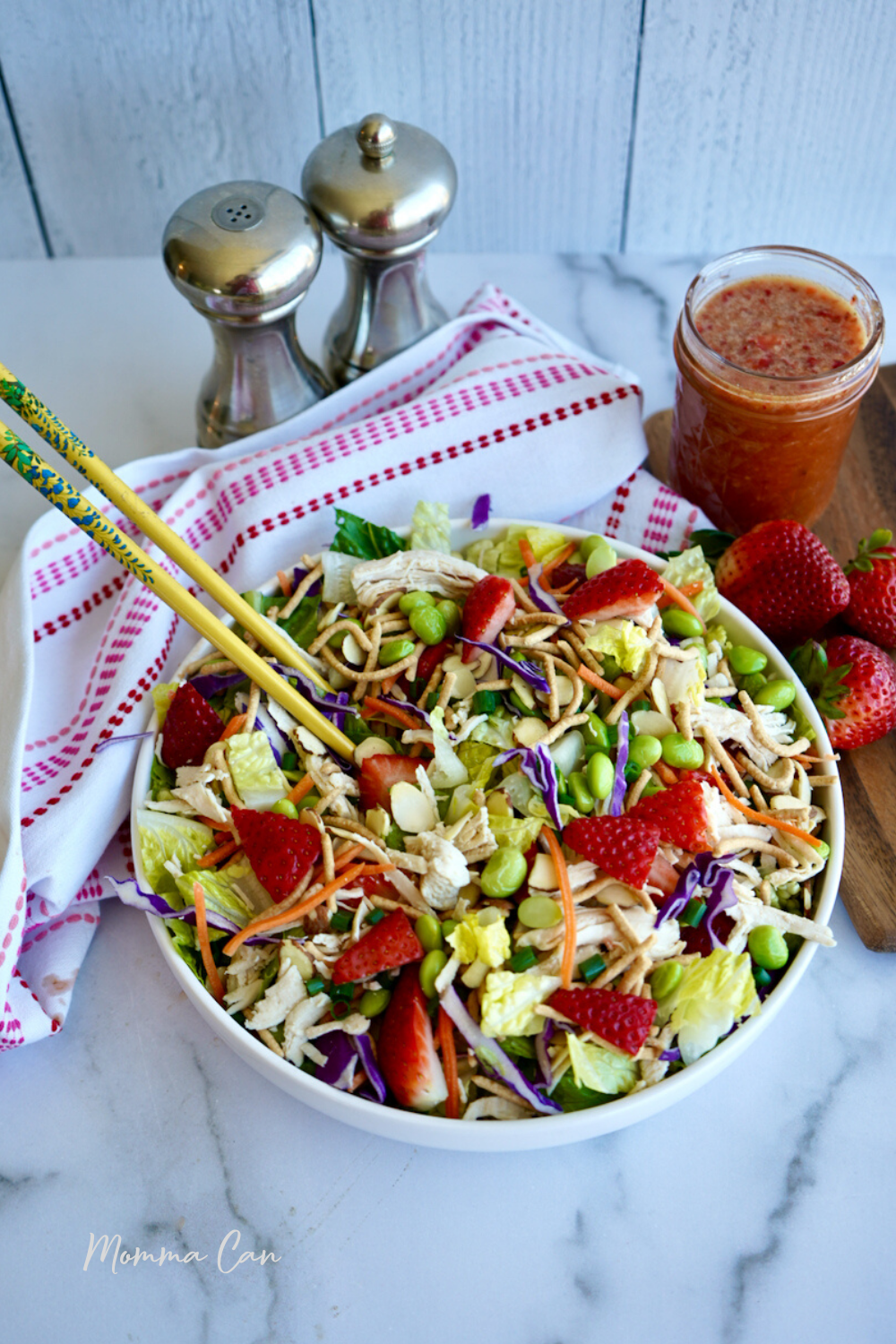 Strawberry Chinese Chicken Salad Recipe