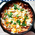 Easy Skillet Chicken Enchiladas Recipe