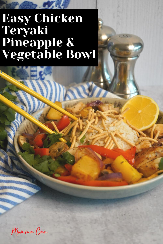 Easy Chicken Teriyaki Bowl