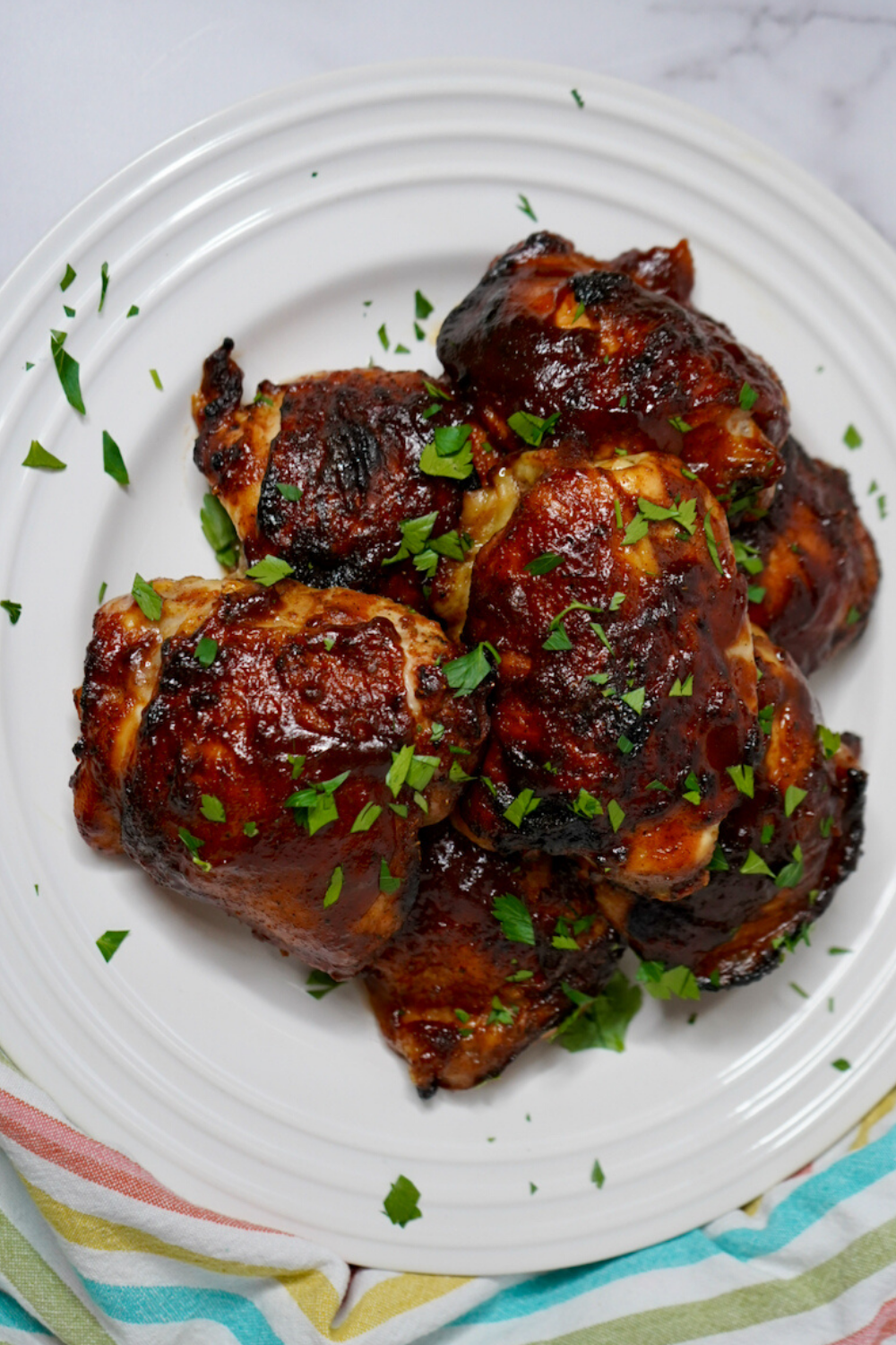 Easy BBQ Baked Chicken Thighs Recipe