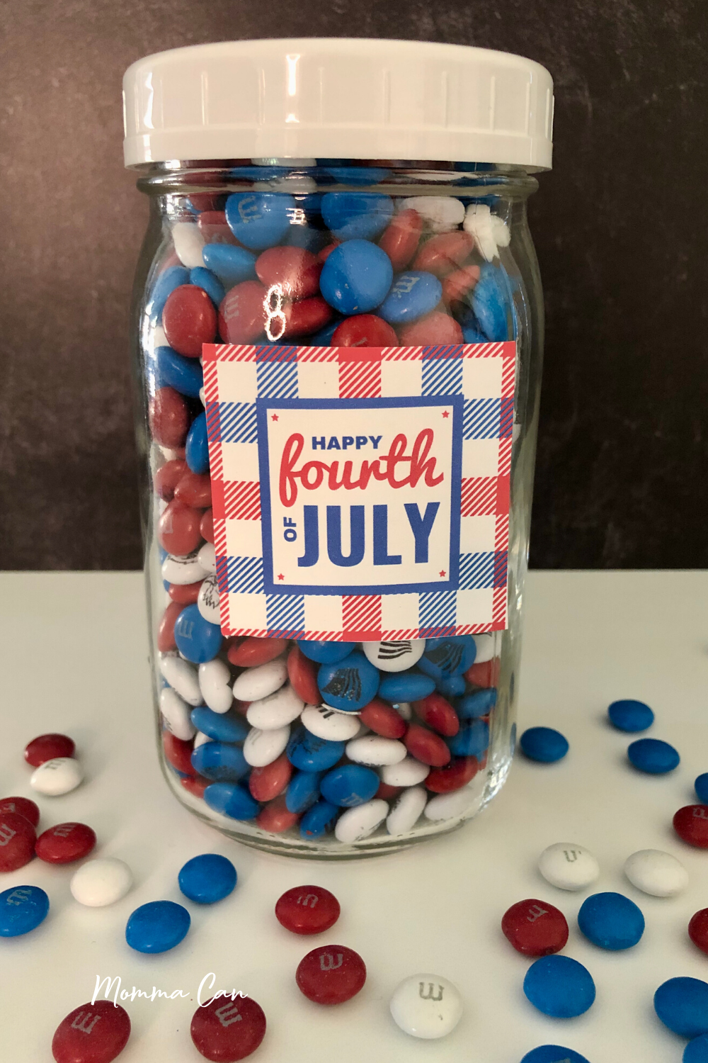 Free Printable 4th of July Tag