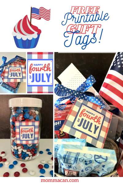 4th of July Gift Ideas for Tags