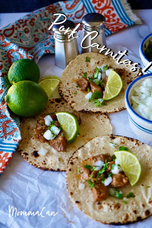 Mexican Cola Pork Carnitas Recipe