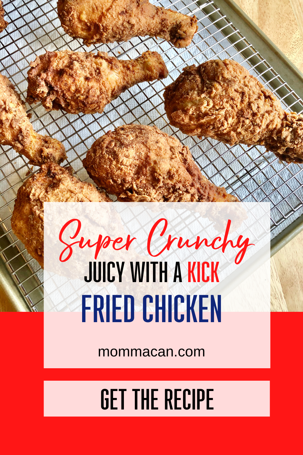Juicy Fried Chicken legs