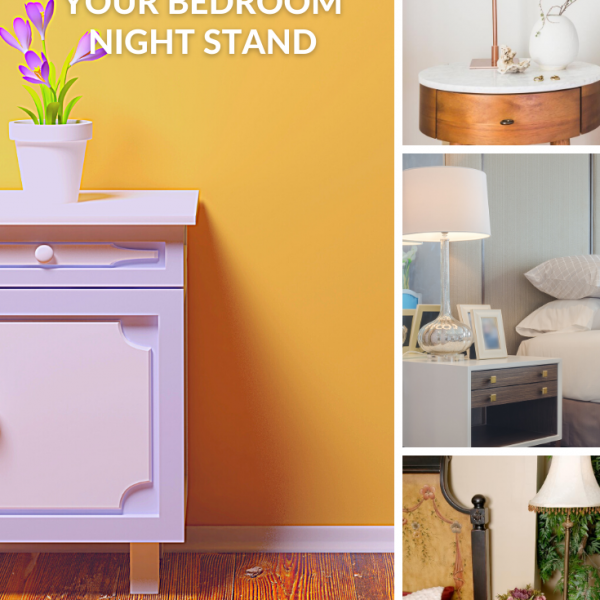 How To Organize Your Nightstand