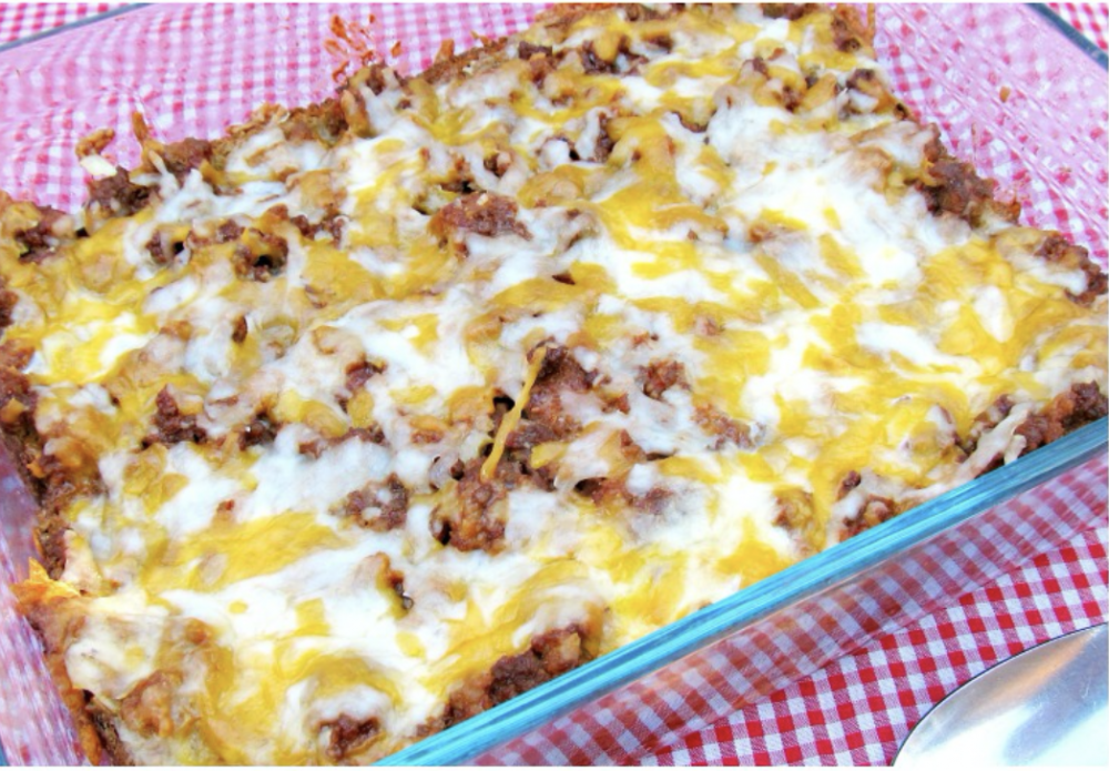 Cheese Burger Casserole