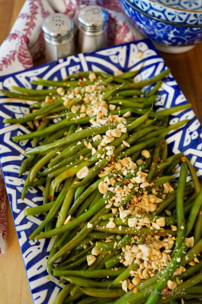 Spicy Green Beans with Peanuts
