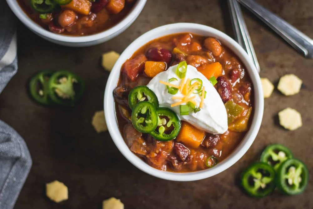 Tasty Chili Sweet Potato
